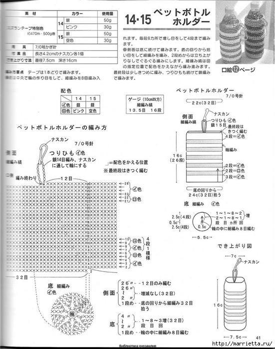 Корзинка и сумки крючком из полиэтиленовых пакетов (38) (551x700, 248Kb)