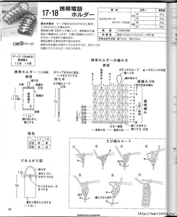 Корзинка и сумки крючком из полиэтиленовых пакетов (45) (572x700, 214Kb)