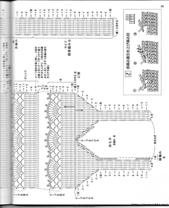 Корзинка и сумки крючком из полиэтиленовых пакетов (58) (568x700, 263Kb)