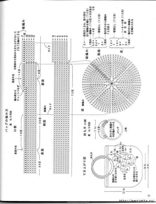 Корзинка и сумки крючком из полиэтиленовых пакетов (67) (534x700, 222Kb)