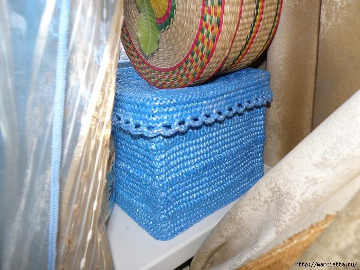 Вязанье из полиэтилена