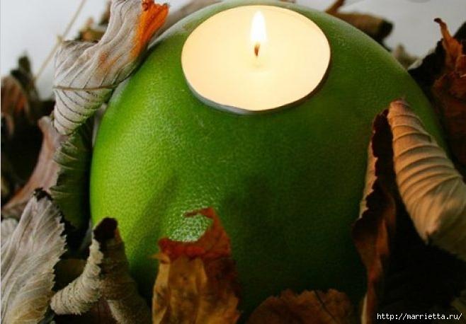Создаем свечи с использованием пищевых продуктов и природных материалов (2) (658x458, 145Kb)