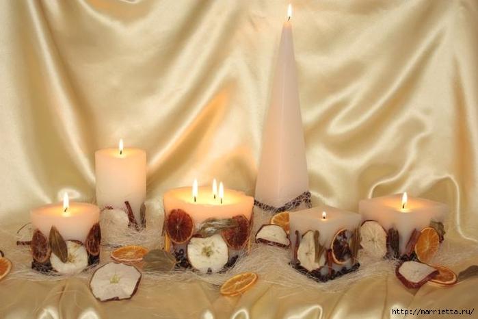 Создаем свечи с использованием пищевых продуктов и природных материалов (6) (700x466, 188Kb)