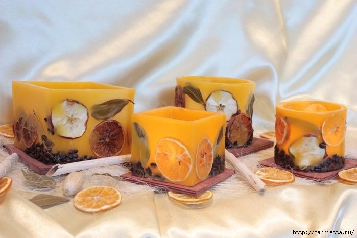 Создаем свечи с использованием пищевых продуктов и природных материалов (12) (700x466, 209Kb)
