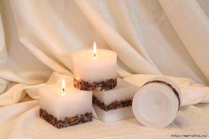 Создаем свечи с использованием пищевых продуктов и природных материалов (25) (700x466, 166Kb)