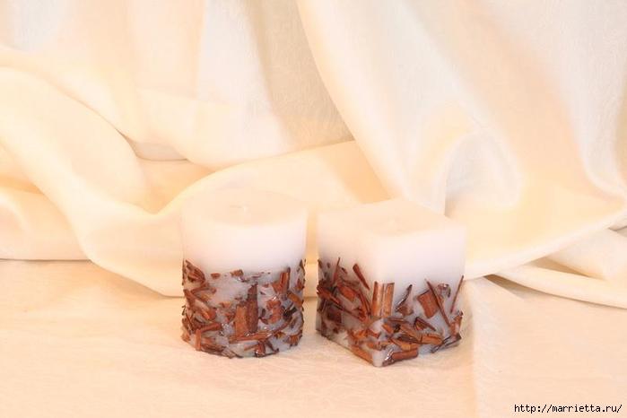 Создаем свечи с использованием пищевых продуктов и природных материалов (27) (700x466, 145Kb)