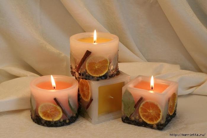 Создаем свечи с использованием пищевых продуктов и природных материалов (43) (700x466, 175Kb)