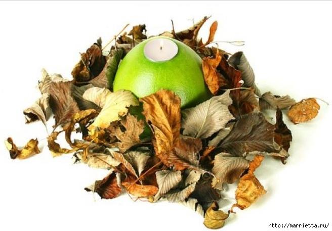 Создаем свечи с использованием пищевых продуктов и природных материалов (56) (656x457, 153Kb)