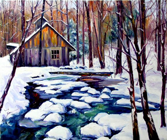 cabin_by_the_brooke_by_artistdanielwall (579x485, 258Kb)