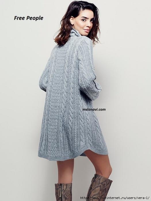 вязаное-платье-спицами-Free_People_2 (525x700, 177Kb)
