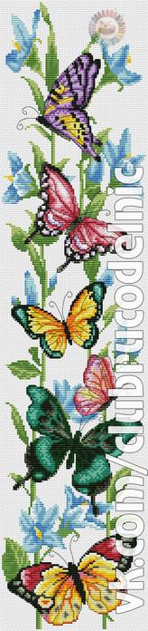 Dreamy Butterfly (164x700, 98Kb)