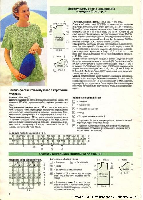 DIANA Маленькая  1998-06 Вязание_4 (500x700, 310Kb)