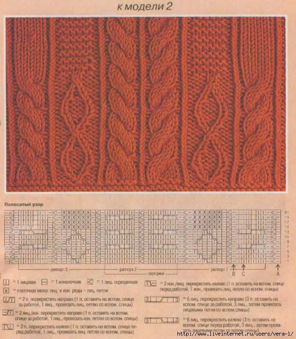 DIANA Маленькая  1998-11 Вязание_8 (612x700, 362Kb)