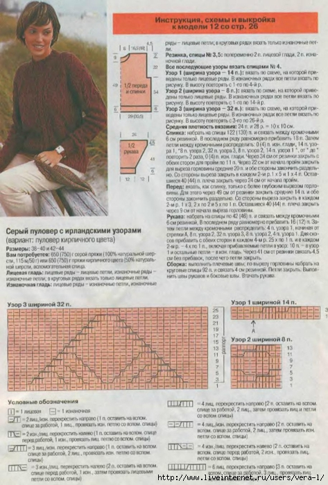 DIANA Маленькая  1998-11 Вязание_25 (473x700, 276Kb)
