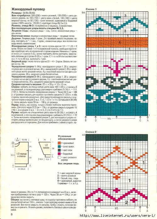 DIANA Маленькая  1998-01 Вязание_8 (500x700, 313Kb)
