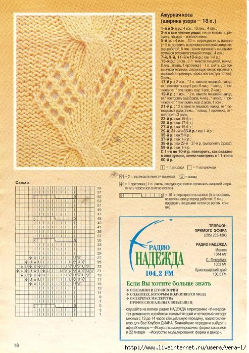 DIANA Маленькая  1998-01 Вязание_19 (493x700, 390Kb)