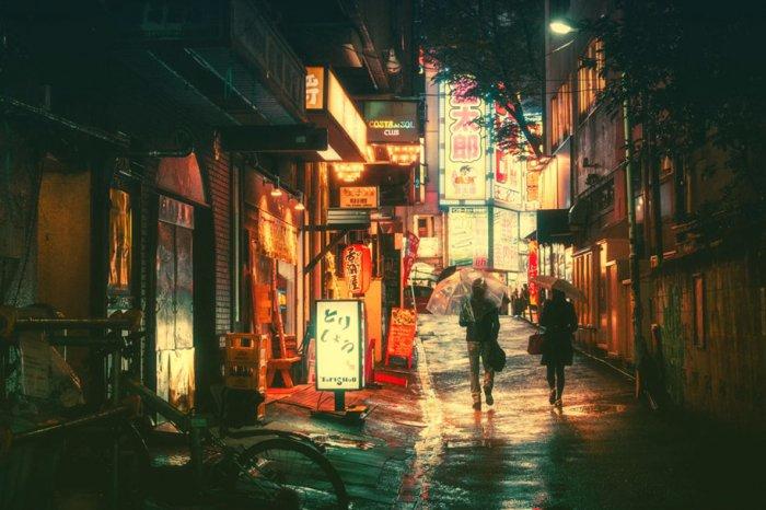 ночной токио фото 1 (700x466, 301Kb)