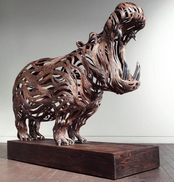 проволочные скульптуры Сен Хун Кан 3 (600x626, 524Kb)