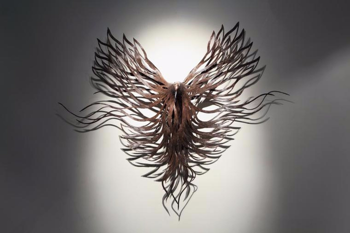 проволочные скульптуры Сен Хун Кан 7 (700x466, 166Kb)