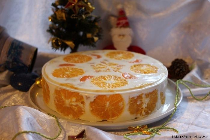 Праздничный апельсиновый желейный торт (1) (700x466, 239Kb)
