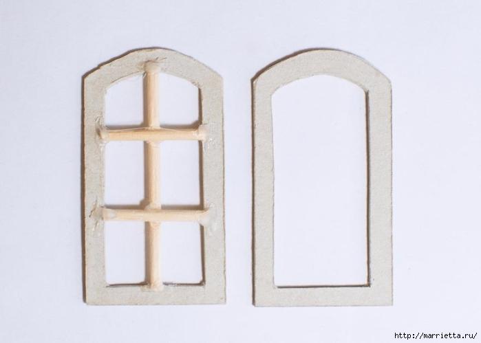 Домик в Викторианском стиле. Из картонной коробки (11) (700x499, 117Kb)