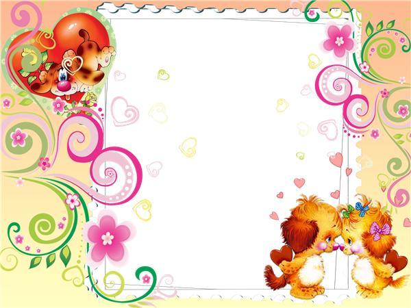 Детские шаблоны на открытки с днем