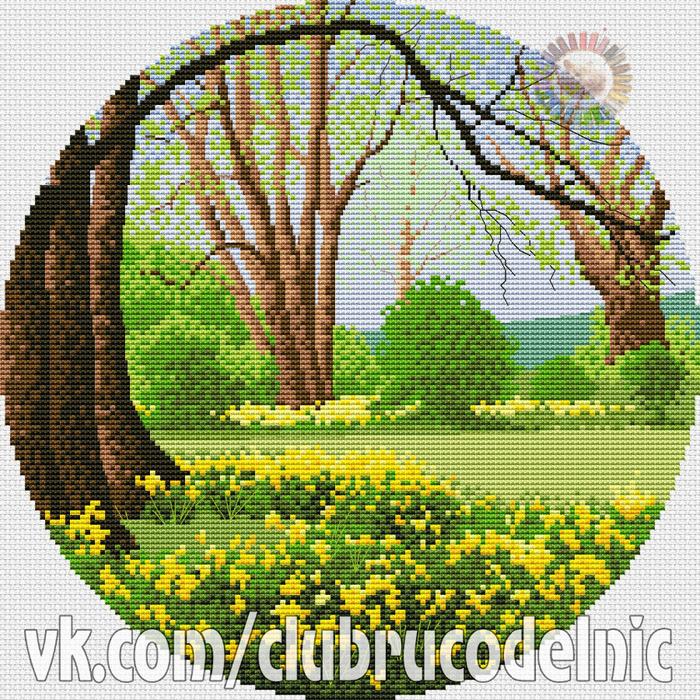 Daffodil Wood (700x700, 847Kb)