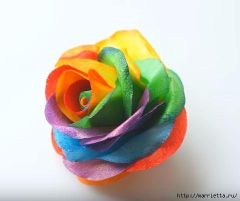 Цветы для торта. Из съедобной вафельной бумаги (1) (480x403, 72Kb)