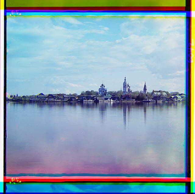 1. вид города Осташков с острова Воронье  (640x638, 291Kb)