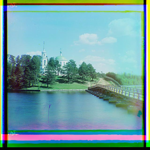 24. Вид на Светлицу. Церковь Михаила Архангела ) (640x640, 334Kb)