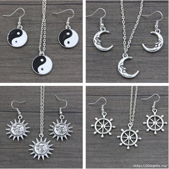 2015 new free shipping silver Taiji anchor Sun Moon Pendant chain Necklace Set female gift smt350/5863438_2015newfreeshippingsilverTaijianchorSunMoonPendantchainNecklaceSetfemalegiftsmt3501 (568x569, 152Kb)