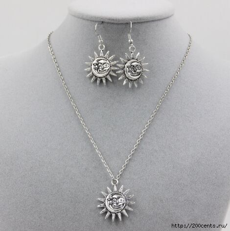 2015 new free shipping silver Taiji anchor Sun Moon Pendant chain Necklace Set female gift smt350/5863438_2015novayabesplatnayadostavkataicziyakorsolncelynakyloncepiojerelejenskiipodaroksmt3502 (470x473, 86Kb)