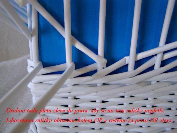 Корзинка для белья — плетение из газет5 (600x450, 217Kb)