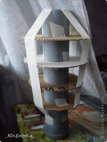 Напольная ваза из картона своими руками мастер класс
