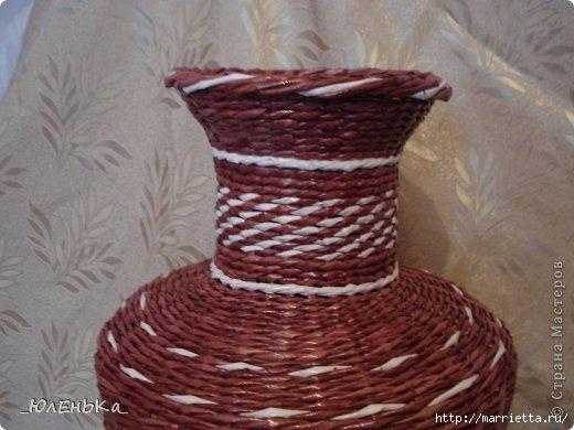 Напольная ваза из газет. Из чего сделать форму для оплетания (6) (520x390, 116Kb)