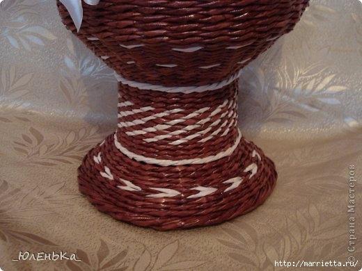 Напольная ваза из газет. Из чего сделать форму для оплетания (8) (520x390, 119Kb)