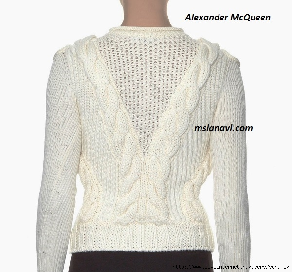 вязаный-модный-пуловер-спицами-4 (600x558, 200Kb)