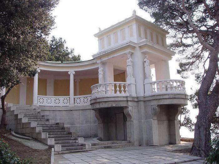 Дача Свиягина в Симеизе 1 (700x525, 405Kb)