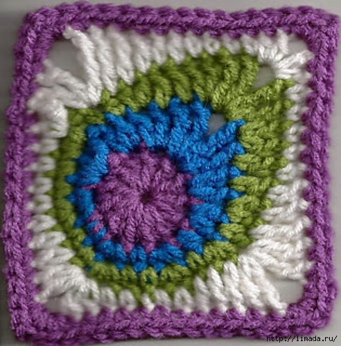 Crochet-Peacock-Feather-Square-Free-Pattern (492x500, 204Kb)