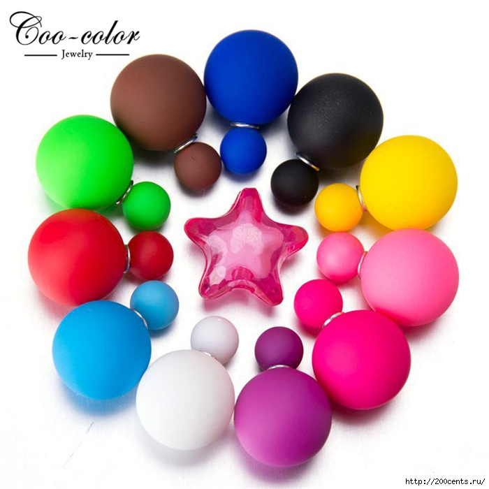 Newest Fashion Jewelry Earring Candy Color Double Side Pearl Earrings Big/Small Frosted Matte Stud Earrings For Women Girl/5863438_NewestFashionJewelryEarringCandyColorDoubleSidePearlEarringsBigSmallFrostedMatteStudEarrings0 (700x700, 187Kb)