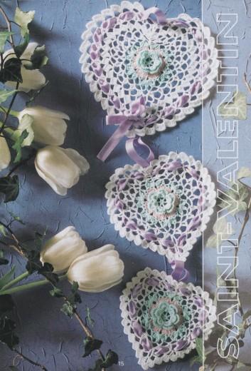 Схемы вязания сердечек - валентинок крючком (6) (353x520, 201Kb)