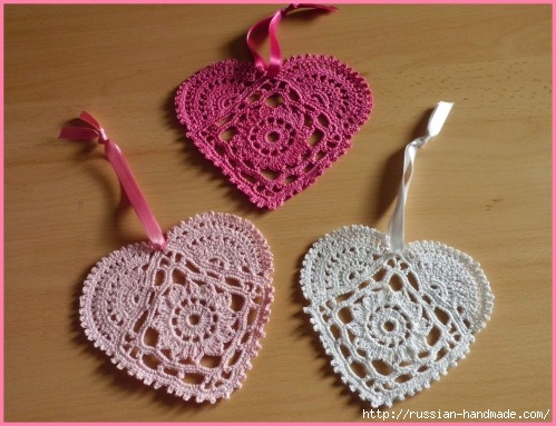 Схемы вязания сердечек - валентинок крючком (10) (499x383, 136Kb)