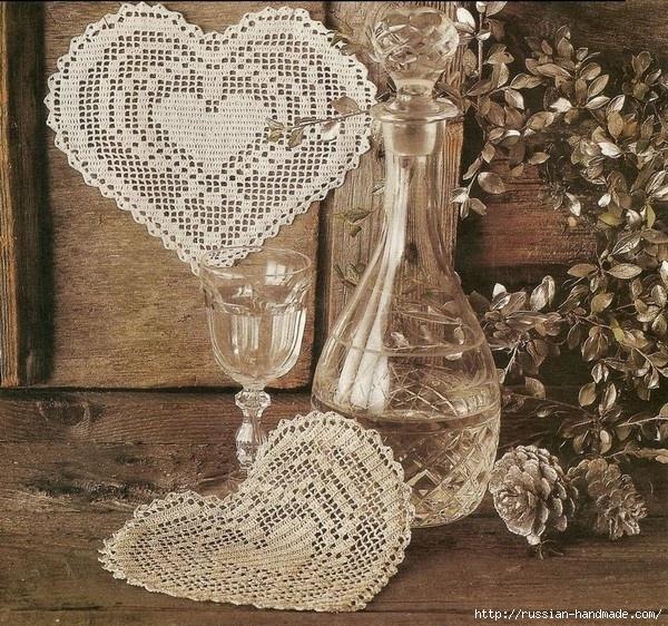 Схемы вязания сердечек - валентинок крючком (36) (600x562, 371Kb)