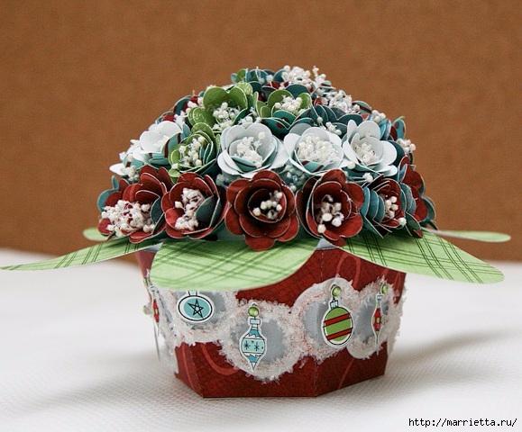 cesta de papel de rosas con sus manos (15) (579x480, 207KB)