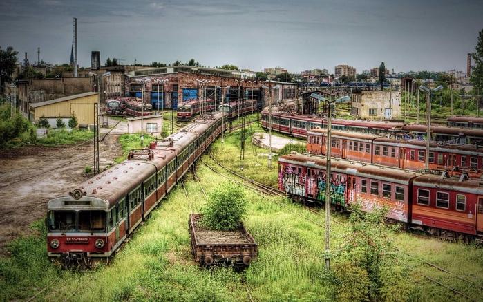 2. Заброшенное депо метро в Цинциннати (700x437, 422Kb)
