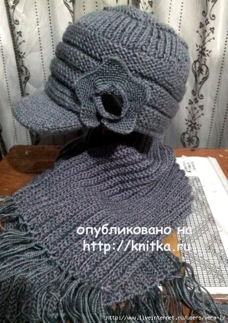 knitka-ru-shapochka-s-kozyr-kom-i-sharf-raboty-valentiny-27274-460x651 (460x651, 239Kb)