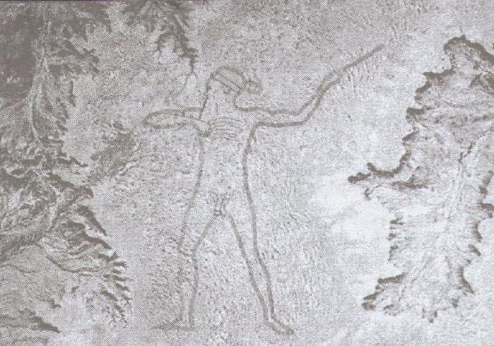 рисунок аборигена в автралии 3 (700x490, 369Kb)