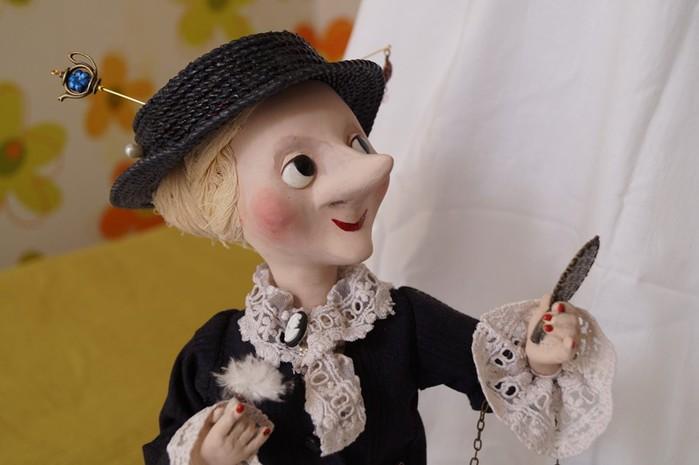 кукла старуха шапокляк выкройка