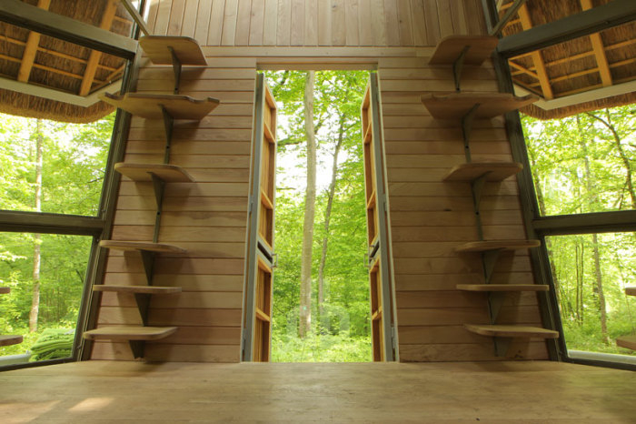 Лесные домики Le Nichoir 3 (700x466, 274Kb)