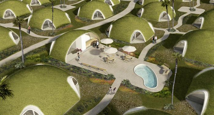надувные дома из бетона Binishell 1 (700x378, 334Kb)